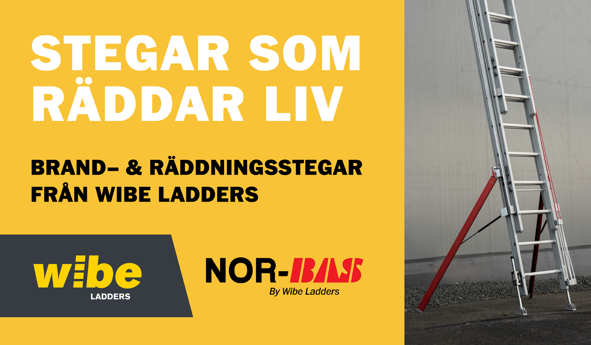 Nor-Bas by Wibe Ladders